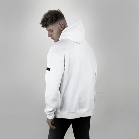 Verlaine Box-Logo Hoodie - DISHONOR LONDON