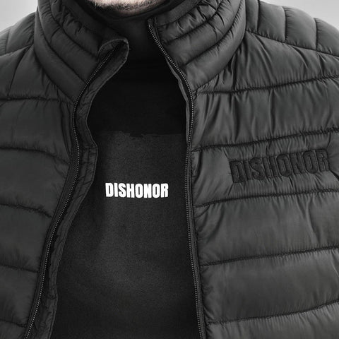 Castor Padded Gilet - DISHONOR LONDON