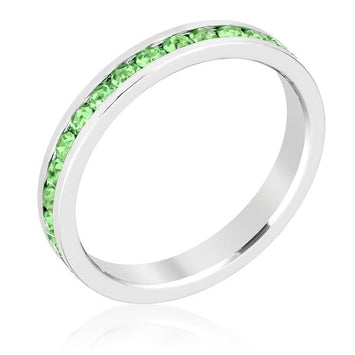 Stylish Stackables Peridot Crystal Ring
