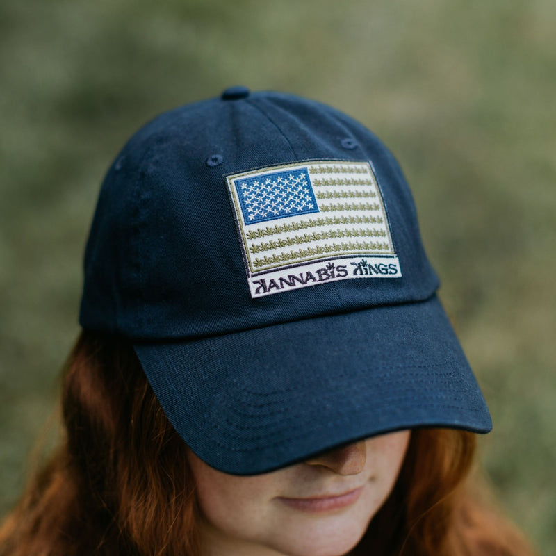 """US of WEED"" Ball Cap"