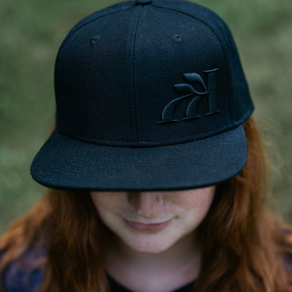 "The ""Stealth DL"" Snapback (flatbrim)"