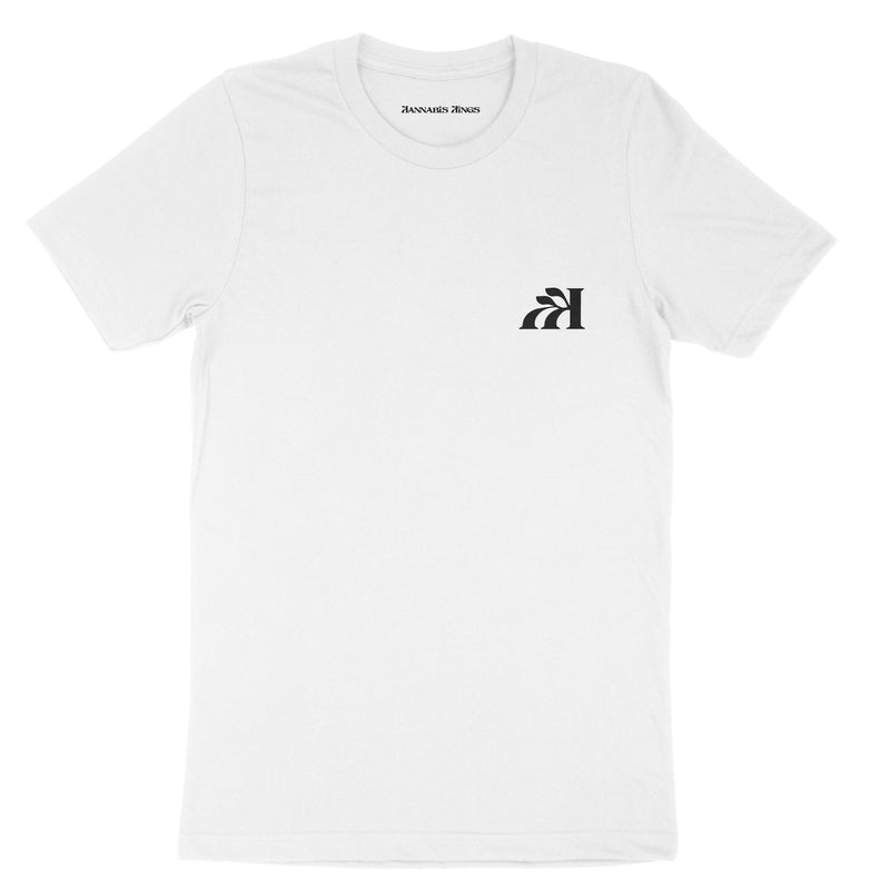 "On The ""DL"" Tee with LA Skyline Back- short sleeve"