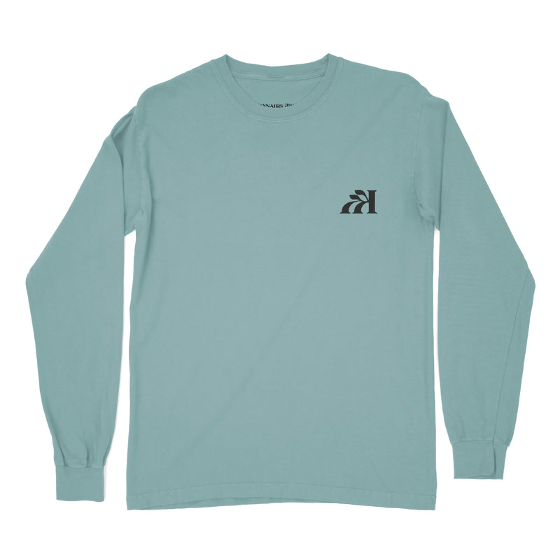 """On the DL"" Logo Front / LA Skyline Back- Long Sleeve"