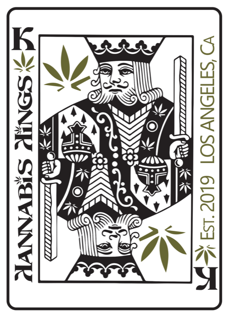 King of Weed Sticker