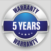 VaxAid 5 Year Warranty