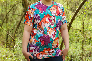 *NEW* All Over Patterned Wildcat Tee Shirt