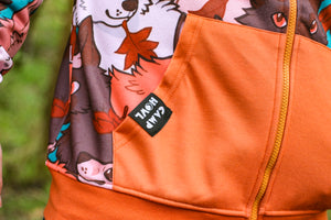 Load image into Gallery viewer, *NEW* All Over Patterned Fox Hoodie