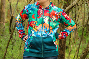 *NEW* All Over Patterned Dinosaur Hoodie