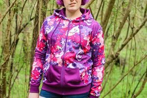 Load image into Gallery viewer, *NEW* All Over Patterned Urban Scavengers Hoodie