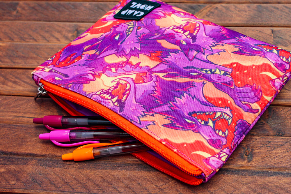 Load image into Gallery viewer, Werewolf Zipper Pouch