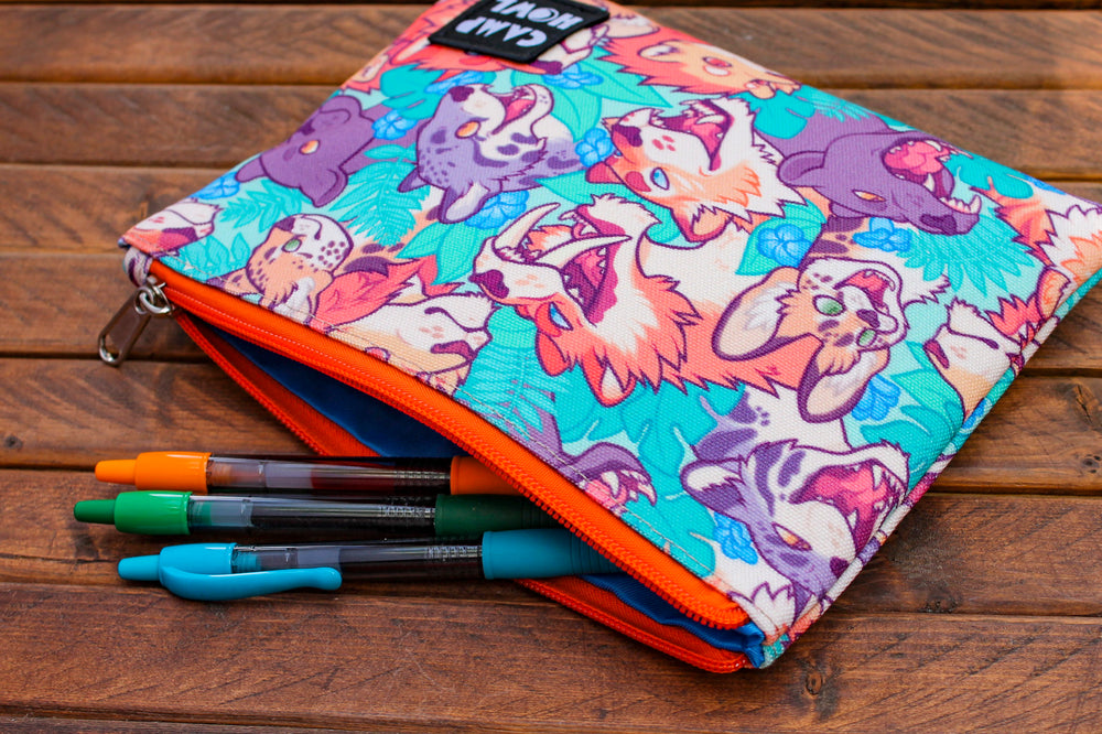 Wildcat Zipper Pouch