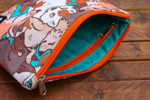 Fox Zipper Pouch