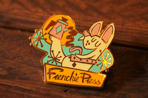 Load image into Gallery viewer, Frenchie Press - Hard Enamel Pin