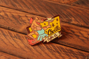 Load image into Gallery viewer, Chortle Coffee Co. - Hard Enamel Pin