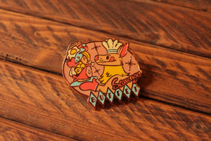 Load image into Gallery viewer, Scavenger Buffet - Hard Enamel Pin