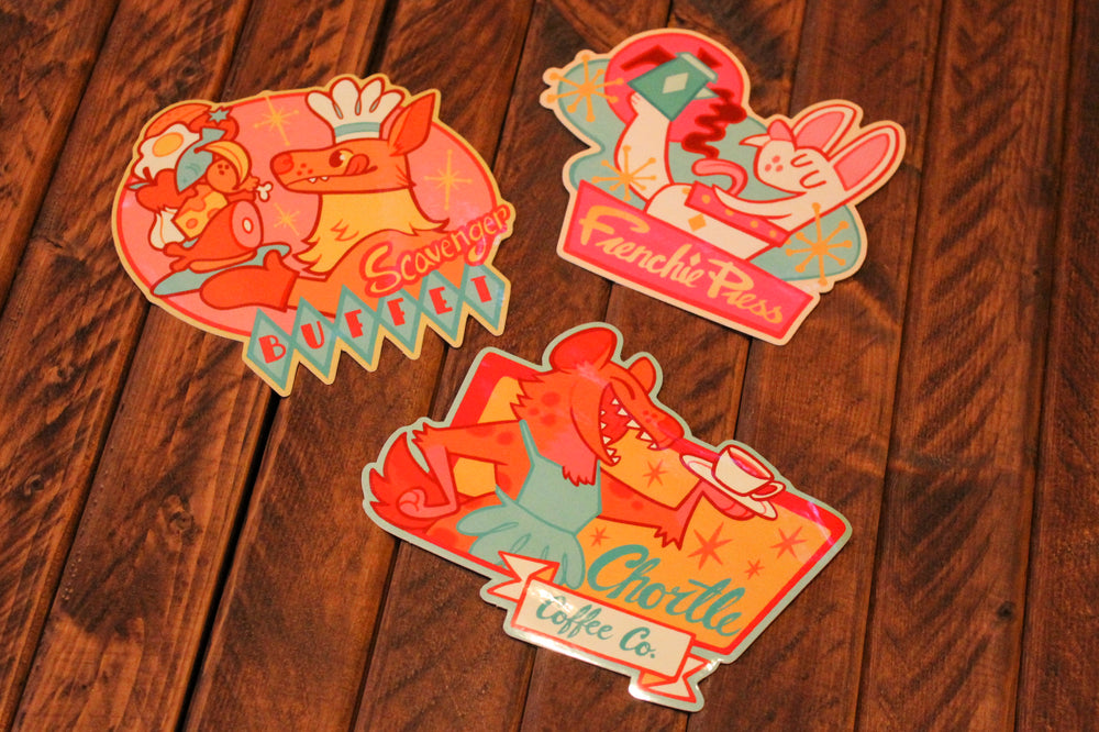 Load image into Gallery viewer, Diner Vinyl Stickers