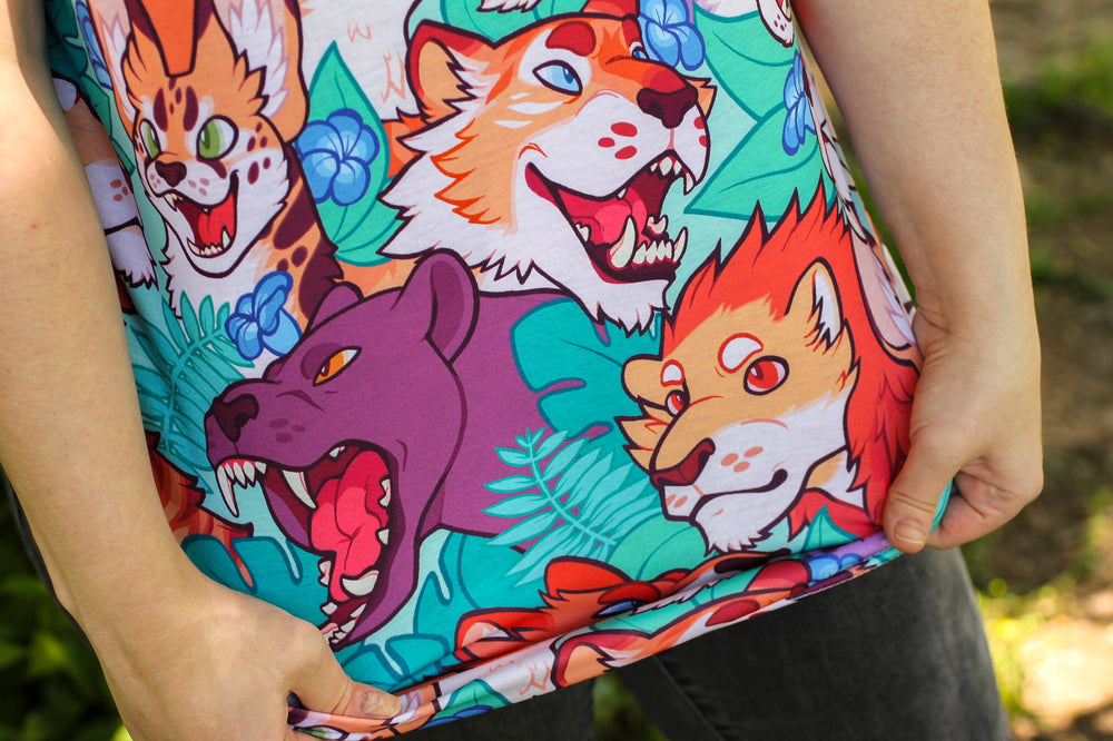 Load image into Gallery viewer, All Over Patterned Wildcat Tank Top