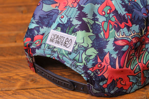 Printed Cryptozoology Snapback