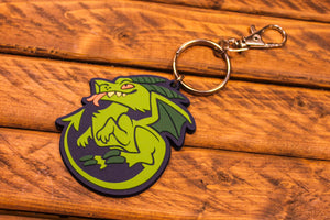 Load image into Gallery viewer, Jersey Devil Rubber Keychain