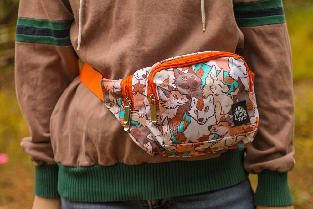 Load image into Gallery viewer, Fox Fanny Pack