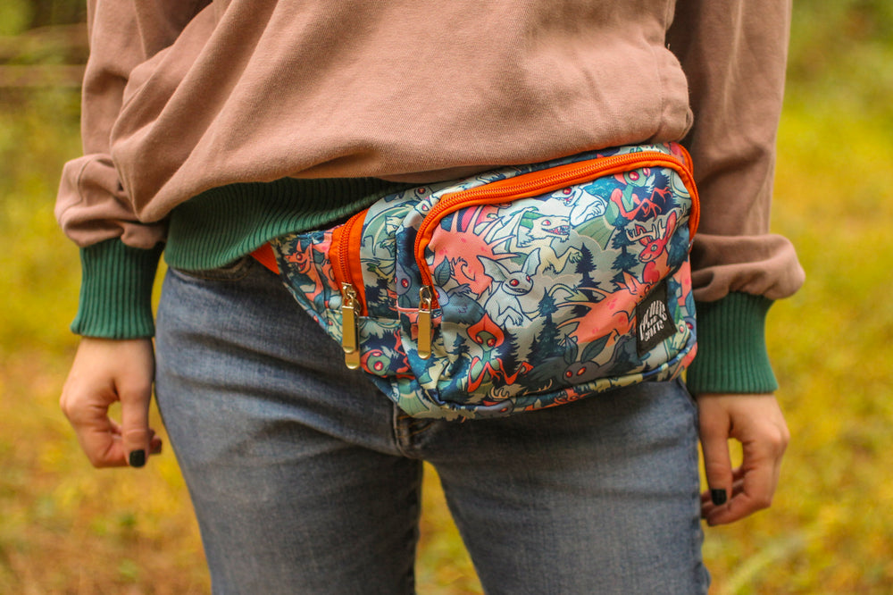 Load image into Gallery viewer, Cryptozoology Fanny Pack