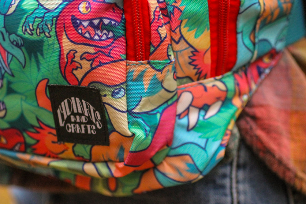 Load image into Gallery viewer, Dinosaur Fanny Pack