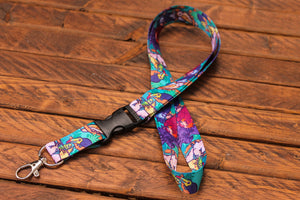 Load image into Gallery viewer, Bird Lanyard with Buckle and Lobster Claw