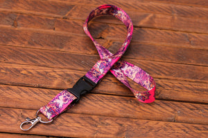 Hyena Lanyard with Buckle and Lobster Claw