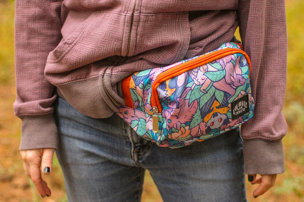 Load image into Gallery viewer, Bat Fanny Pack