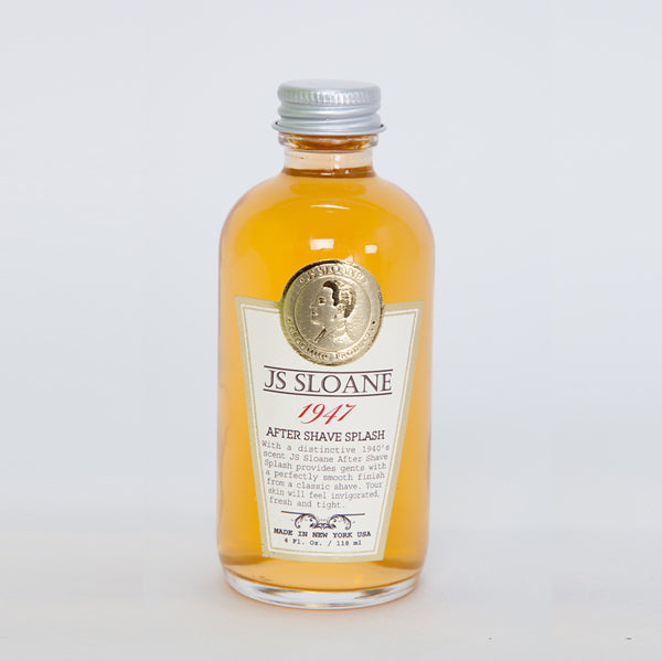 JS SLOANE 1947 Cologne After Shave Splash  鬚後古龍水 118ml - Shoptake 生活雜貨