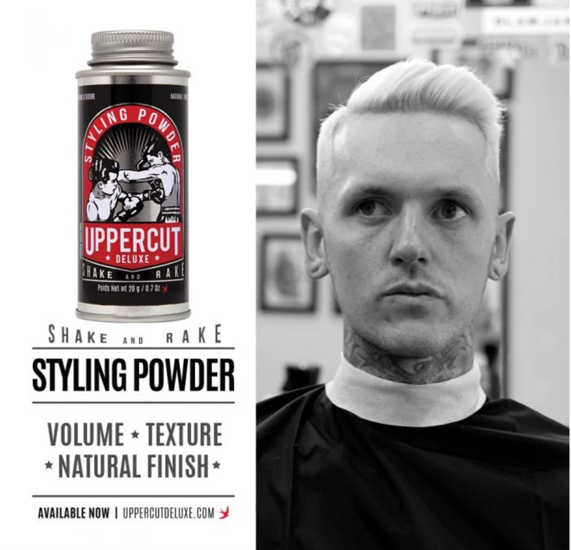 UPPERCUT DELUXE STYLING POWDER 造型髮粉/頭髮塑型粉 20g/0.7oz - Shoptake 生活雜貨