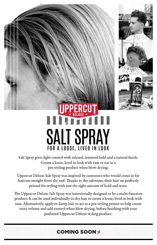 UPPERCUT DELUXE SALT SPRAY 150ml / 5.0 OZ - Shoptake 生活雜貨