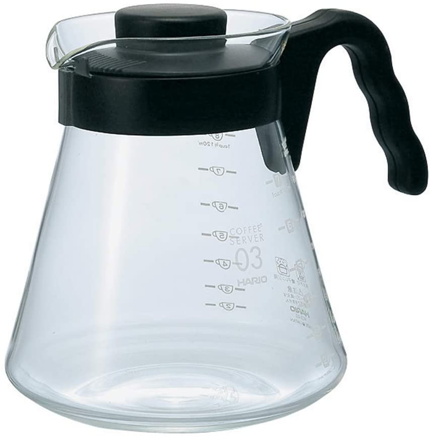 HARIO 日本製 V60 咖啡壺 滴漏壺 Coffee Server VCS 450ml/700ml/1000ml - Shoptake 生活雜貨