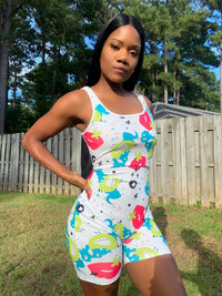 Kiss and tell Romper