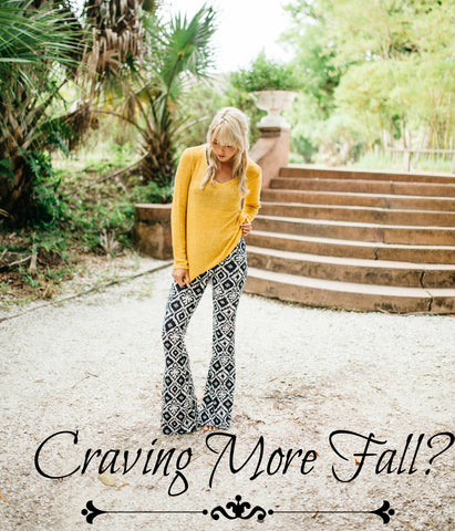 Craving More Fall- Chloe's of Captiva