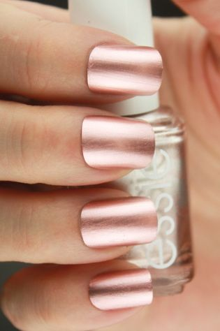 Rose Gold Nails