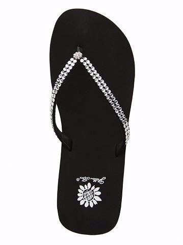 Yellowbox - Jello Flip Flop in Black - ChloesofCaptiva.com - 1