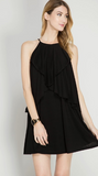 Cascade Knit Dress