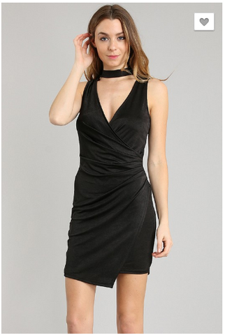 Night Out Choker Dress