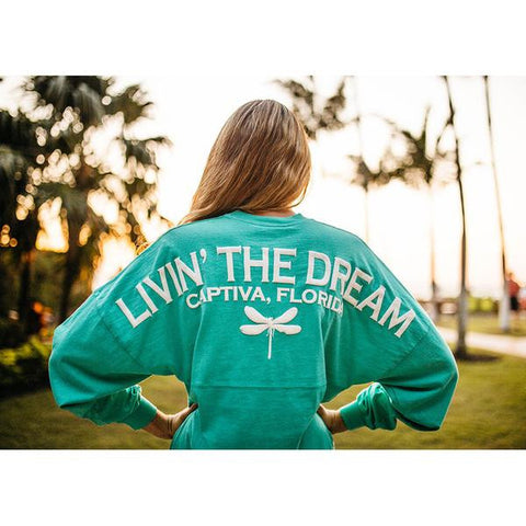 Spirit Activewear - Livin' The Dream Jersey - ChloesofCaptiva.com