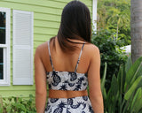 Lucca - Pineapple Crop Top - ChloesofCaptiva.com - 2