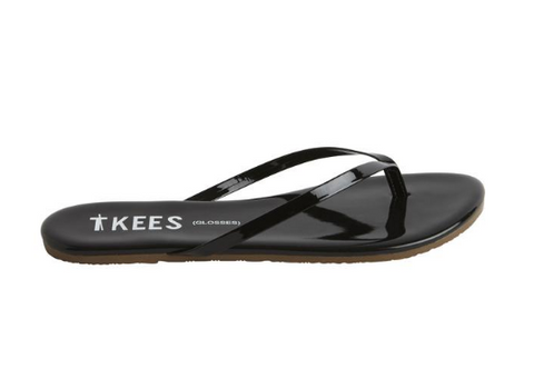 Tkees Licorice Flip Flops