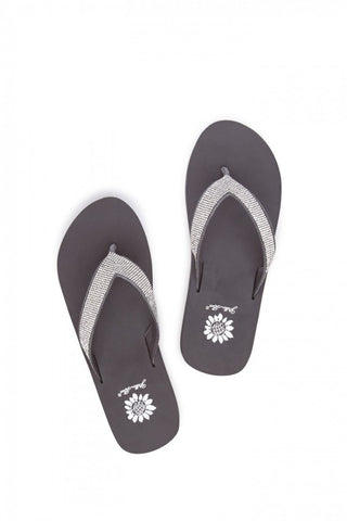 Yellowbox - Cliff Flip Flop in Charcoal - ChloesofCaptiva.com - 1