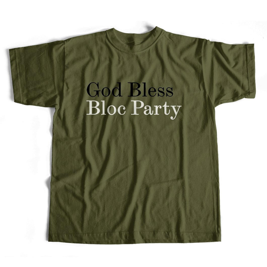 God Bless Bloc Party Tee