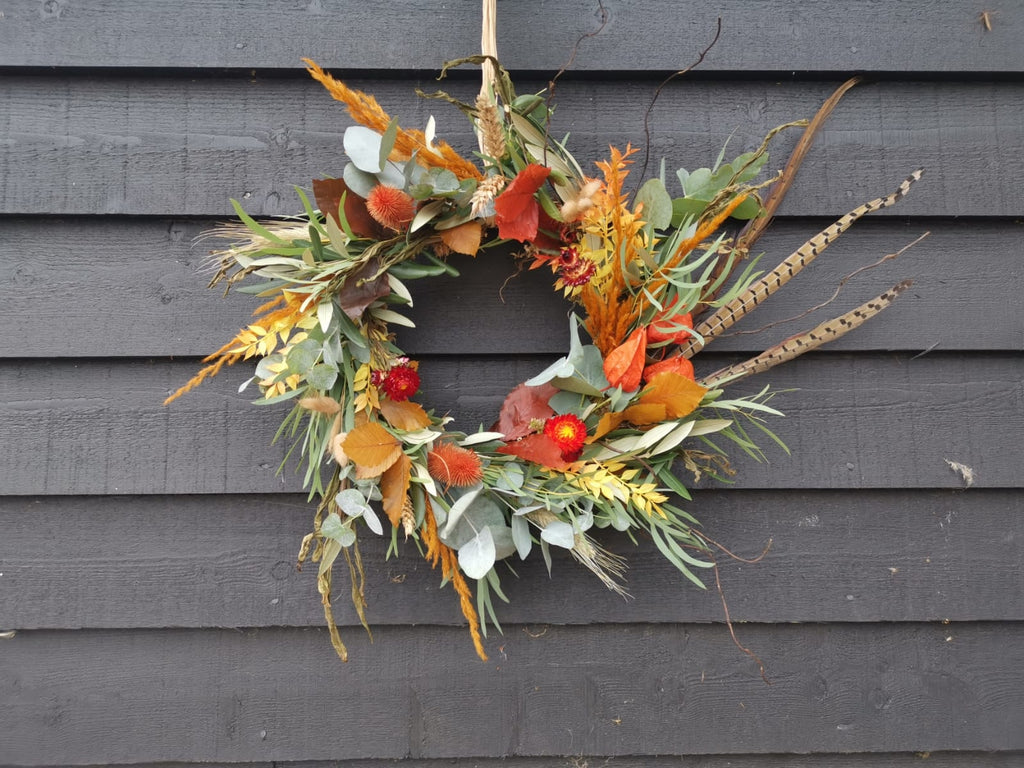 Sat 10th October – Autumn Wreath