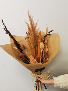 Dried Rust Bouquet