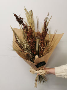 Dried Natural Golds Bouquet