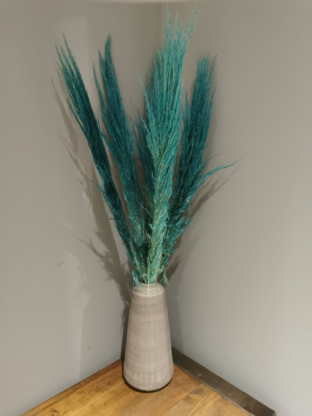 Turquoise Green Dried Pampas