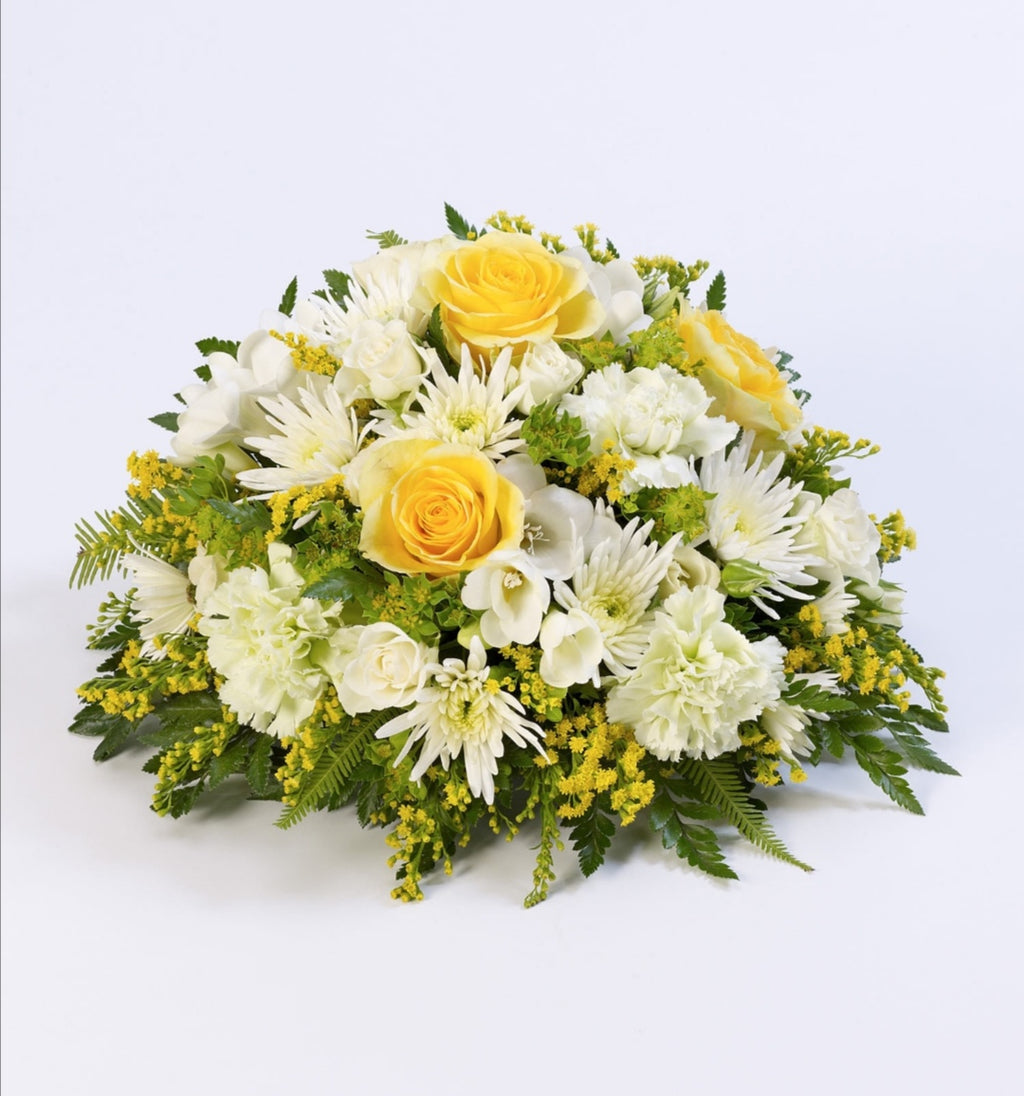 Yellow and White Posy