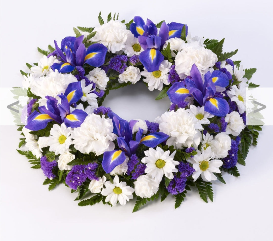 Funeral Wreath colour options